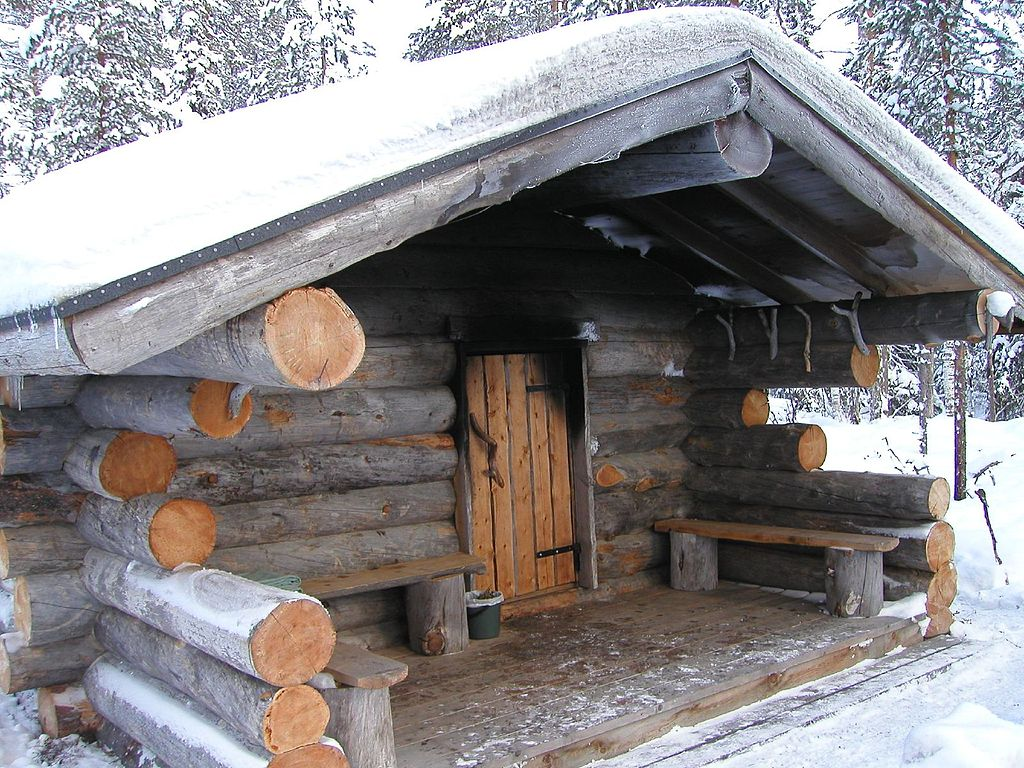 Finnish smoke sauna