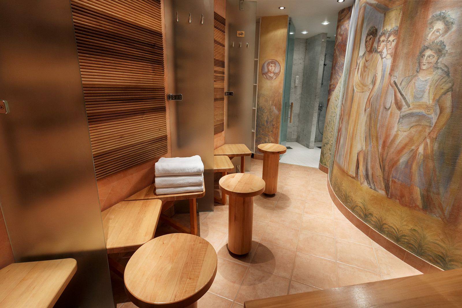 Sauna at Hotel Arthur