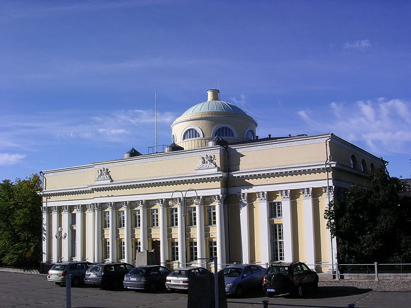 Library of the Helsinki University